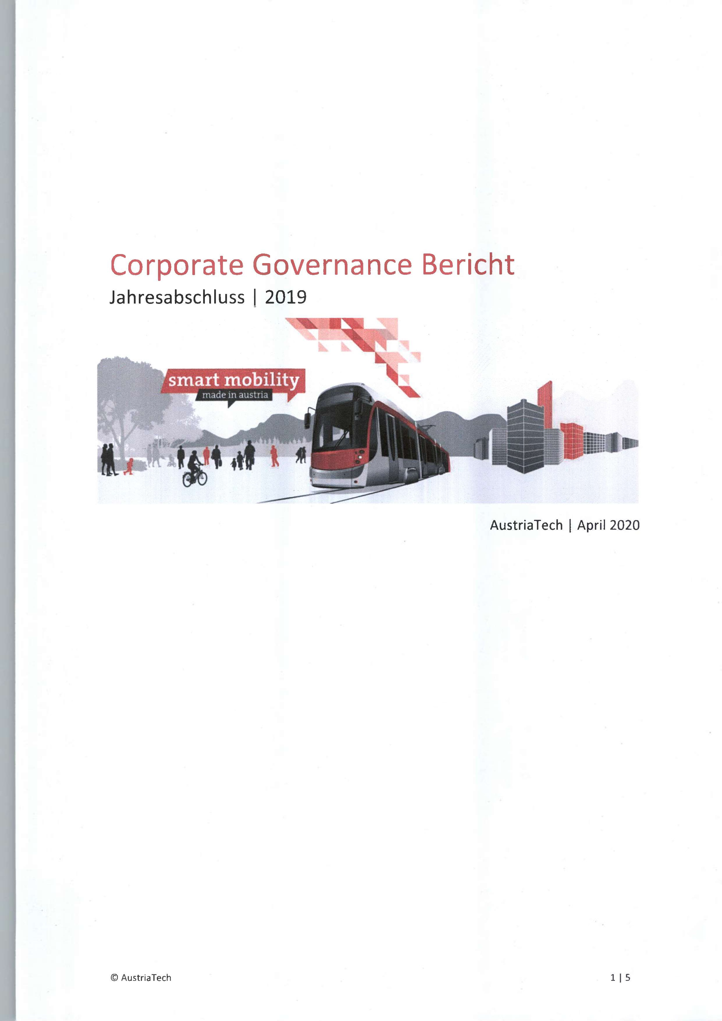 2019 Deckblatt Corporate Governance Bericht